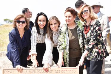 Se colocó la primera piedra de la Unidad de Hospitalización de CIJ para Mujeres en Jalisco