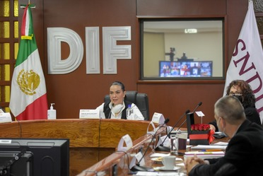 Titular del SNDIF, presidió la instalación.