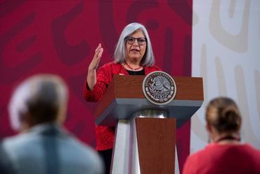 2020-may-19, Participa la secretaria de Economía, Graciela Márquez, en la conferencia matutina del Presidente Andrés Manuel López Obrador