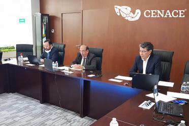 Director Jurídico, Director General y Director de Operación y Planeación del Sistema del Centro Nacional de Control de Energía