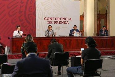 """2020-may-21, Conferencia de prensa """"Créditos a la palabra para reactivar la economía"""" del 21 de mayo de 2020"""