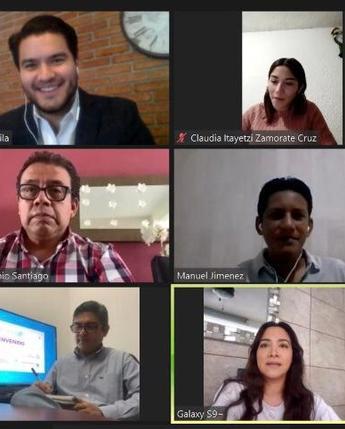 Reunión con el municipio de Tuxtla Gutiérrez, Chiapas para impulsar acciones que reactiven la economía local