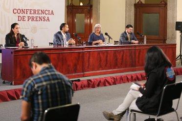 """2020-may-28, Conferencia de prensa """"Créditos a la palabra para reactivar la economía"""" del 28 de mayo de 2020"""