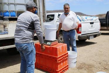 Beneficia Agricultura a pescadores de aguas continentales con el programa nacional de Mejoramiento Productivo.
