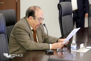 Ing. Alfonso Morcos Flores, Director General del CENACE