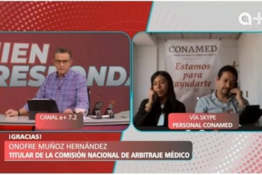 CONAMED participa en el programa de A Quien Corresponda