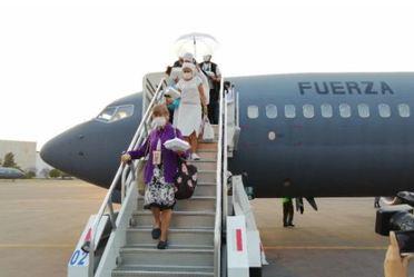 Las Secretarías de Relaciones Exteriores y Defensa Nacional realizan vuelo humanitario