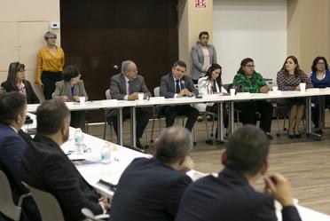 Reunión con Administradores Únicos,  responsables de Inmuebles Federales Compartidos