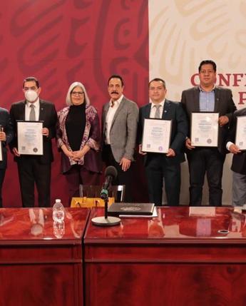 Cancelación del timbre postal conmemorativo a los 20 años de la mejora regulatoria en México y entrega de Certificados PROREFORMA
