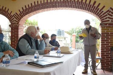 El Secretario de Agricultura en reunión con productores de Morelos.