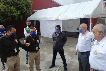 Comisionado del INM, acompañado del diputado, Óscar Novella, anuncia la reubicación de la Oficina y Estación Migratoria de Zacatecas