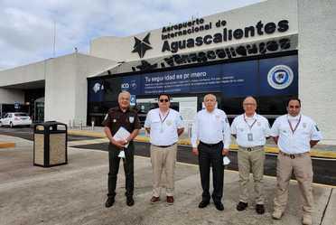 Comisionado del INM en gira de trabajo por Durango, SLP y Aguascalientes