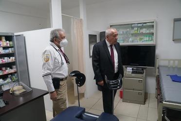 Gira de trabajo del Comisionado del INM por Hidalgo