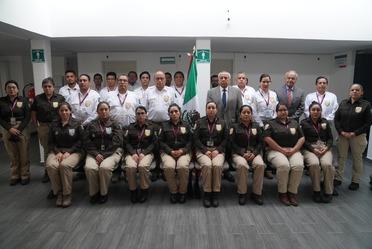 Comisionado del INM supervisa labor del Instituto en EdoMex