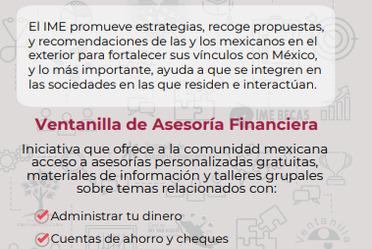 Ventanilla de Asesoría Financiera (VAF)