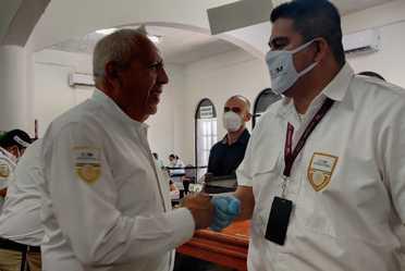 El comisionado del INM, visitó la Oficina Local de Playa del Carmen, la Subrepresentación y Aeropuerto de Cozumel en Quintana Roo