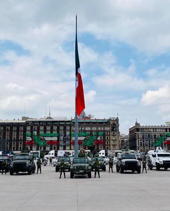 CCX Aniversario de la Independencia de México.