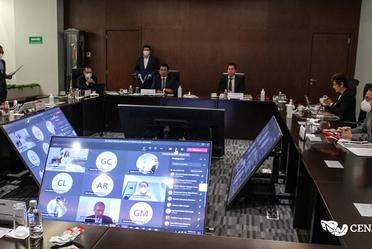 Sesión del Consejo de Administración del CENACE