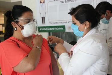 Se suma CRAE a la promoción de la vacunación de todo su personal