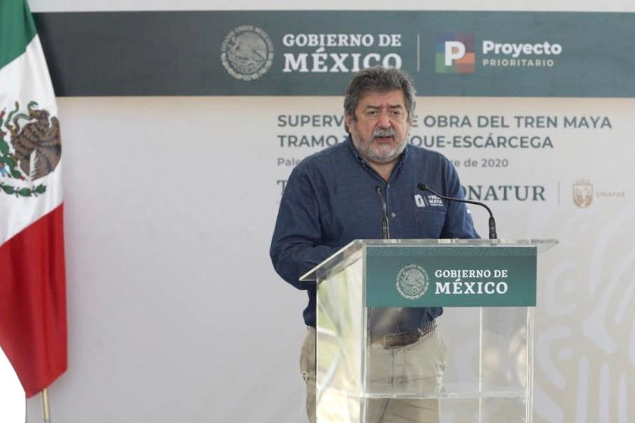 Tren Maya iniciará una nueva etapa de bienestar para el sureste: Rogelio Jiménez Pons