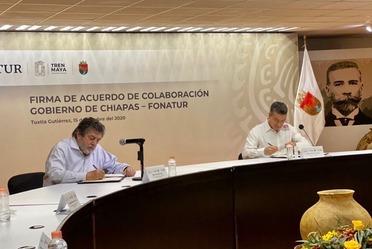 Fonatur y el Gobierno de Chiapas promueven la coordinación institucional.