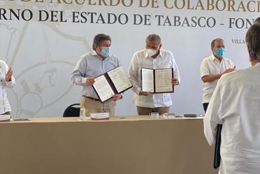 Fonatur y el estado de Tabasco promueven el turismo sustentable alrededor del Tren Maya.