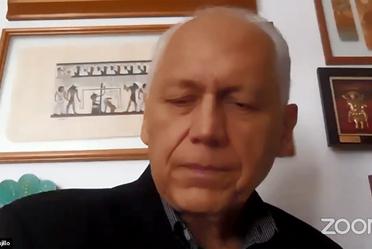 """El Director en jefe del Senasica participando en el foro virtual """"Importancia de la Sanidad Vegetal"""""""