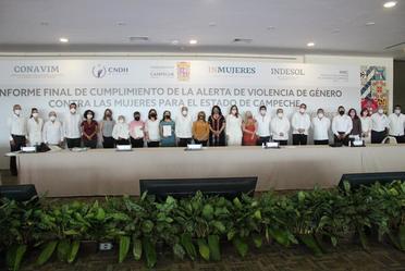 Informe de Avance de la Declaratoria de Alerta de Violencia de Género contra las Mujeres para el Estado de Campeche