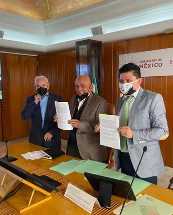 Acuerdo de colaboración entre la FND y la AMSDA para llevar financiamiento a los productores del país.