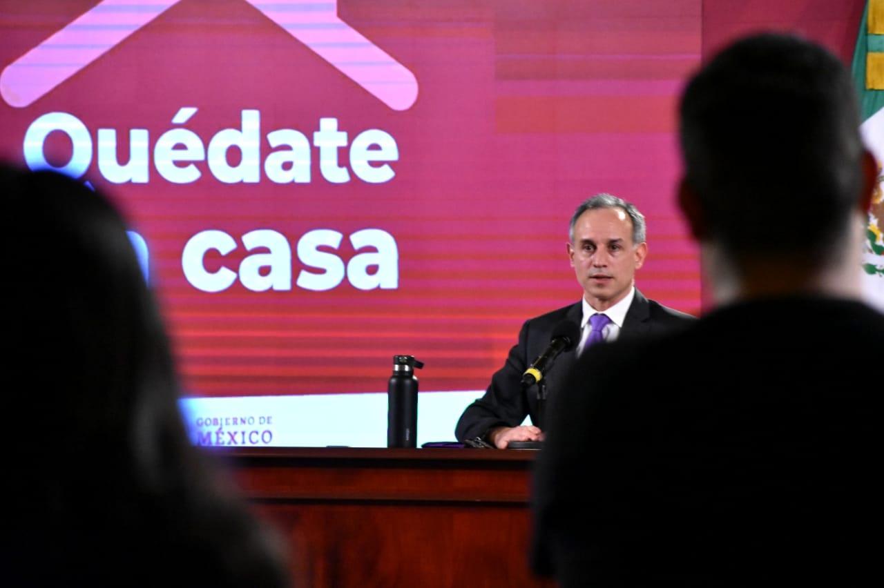 El subsecretario de Prevención y Promoción de la Salud también anunció que el tablero sobre exceso de mortalidad está disponible en www.coronavirus.gob.mx