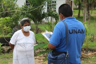 Todos los encuestadores deben identificarse como personal de la UNAM.