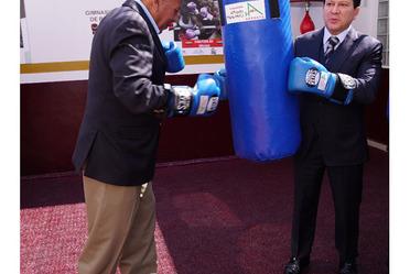 Promoción al Deporte en Estaciones Migratorias con Fundación Alfredo Harp Helú, Movimiento Olímpico Mexicano y Consejo Mundial de Boxeo