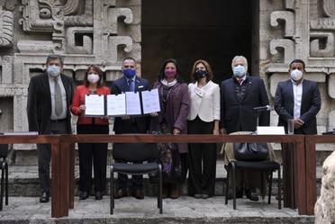 La UNESCO acompaña los trabajos del Tren Maya para incorporar los más altos estándares internacionales en materia cultural, científica, educativa y de comunicación.