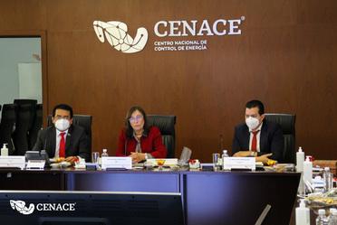 Sesión presidida por la Secretaria de Energía, Ing. Rocío Nahle García