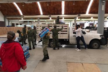 Llevamos ayuda a nuestros hermanos en Tabasco
