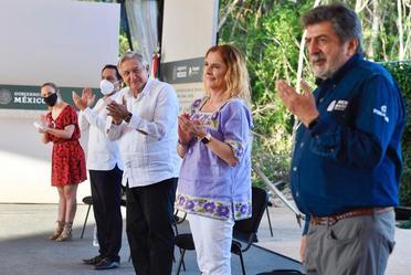 El Gobierno de México trabaja en conjunto para hacer realidad el Tren Maya