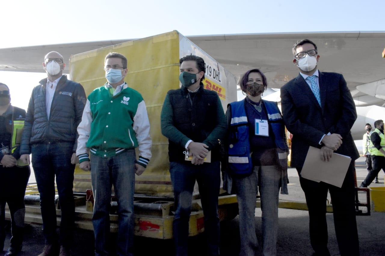 Este sábado 26 de diciembre llegaron dos cargamentos más de vacunas contra el virus SARS-CoV-2