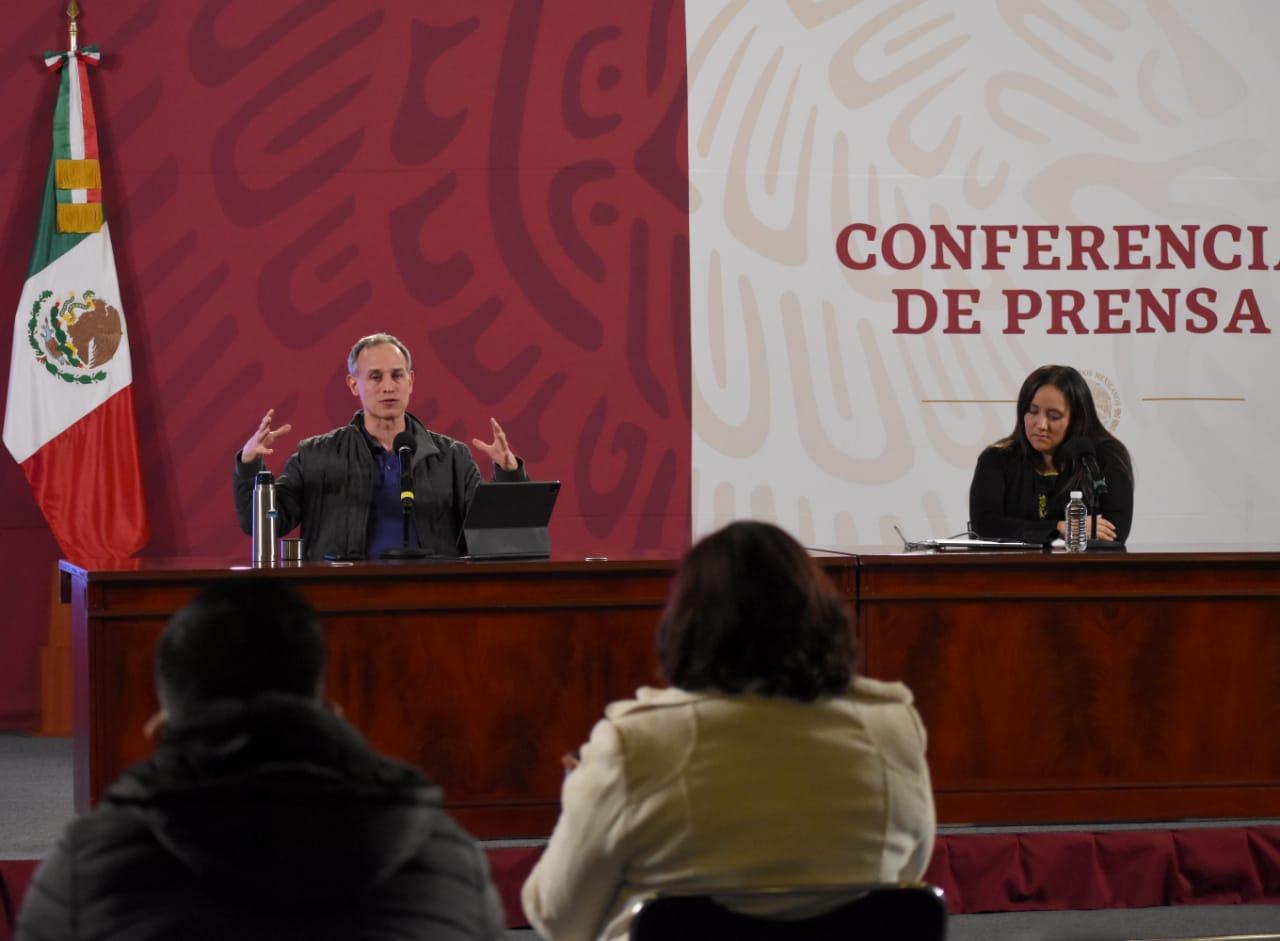 Conferencia de prensa vespertina