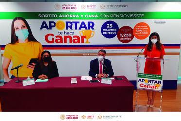 Sorteo Ahorra y Gana con PENSIONISSSTE 2020