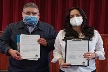 Firma de Convenio entre el Fonhapo y el Municipio de Ahualulco, Jalisco