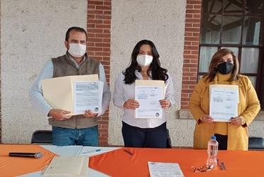 Firma de Convenio entre el Fonhapo y el Municipio de Etzatlán, Jalisco