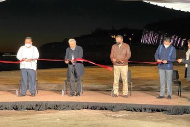 El subsecretario de Infraestructura asistió con la representación del secretario de Comunicaciones y Transportes a la puesta en marcha de la modernización de la carretera La Paz-Pichilingue