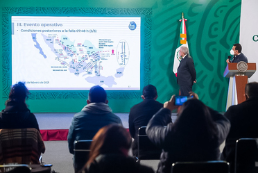 Conferencia de Prensa del Gobierno de México