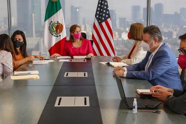 2021-feb-26, Reunión virtual con el secretario de Estado de Estados Unidos