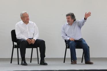 El presidente dio banderazo a las obras del Tren Maya en Tramo 5 y supervisó la obra en Uayma, Yucatán.