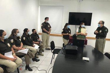 Personal del INM en Mérida, Yucatán, es capacitado en el nuevo modelo de trámites migratorios
