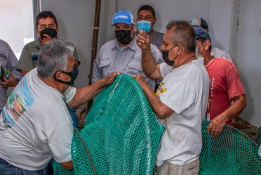 Inició el primer curso-taller del programa de concientización y capacitación en la construcción, instalación y operación eficiente de los dispositivos Excluidores de Tortugas Marinas (DET´S) y Excluidores de Peces (DEP´S), dirigido a fabricantes de redes.