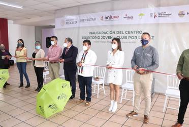 Hoy inauguramos en Ciudad Hidalgo, Michoacán, el centro #TerritorioJoven - Club por la Paz.
