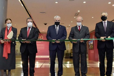 La exposición reconoce la tarea de una de las instituciones insignes del Gobierno Federal, cuya labor titánica comenzó en 1891:JADL