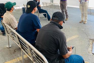 """El INM Nuevo Laredo, Tamaulipas, recibió la inscripción de un Connacional originario de Tabasco al Programa """"México reconoce tu experiencia"""""""